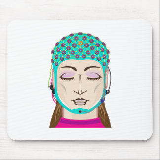 EEG device Mind reading scanning Brain signals Mouse Pad