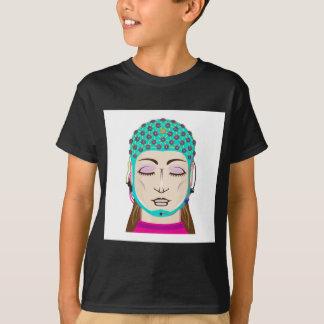 EEG device Mind reading scanning Brain signals T-Shirt