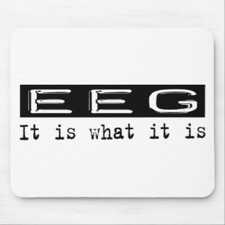 EEG It Is Mouse Pad