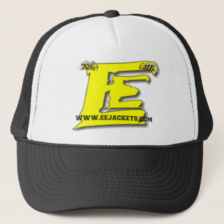 eejackets.com E-E Yellow Jackets website logo Trucker Hat