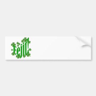 Eejit Bumper Sticker