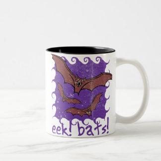 Eek Bats Halloween Mug