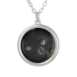 EEK Black Cat Scary Necklaces