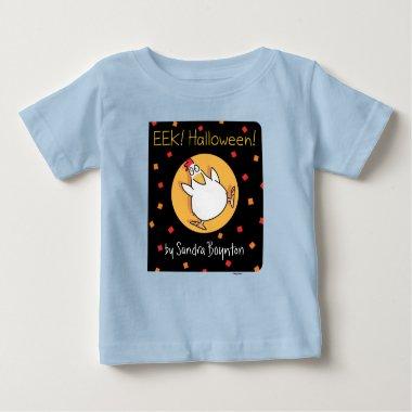 EEK! HALLOWEEN! BOOK COVER [baby] Sandra Boynton Baby T-Shirt