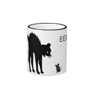 Eek Said the Cat Mugs