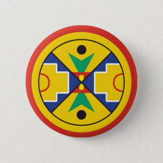 Eel Ground First Nation Micmac Flag Pinback Button