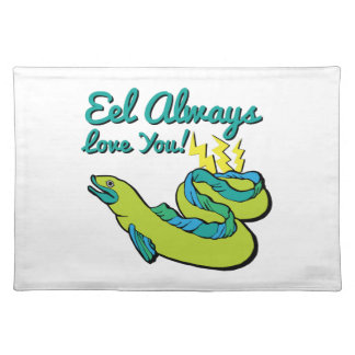 Eel Love You Placemat
