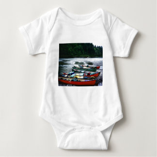 Eel River, California Baby Bodysuit