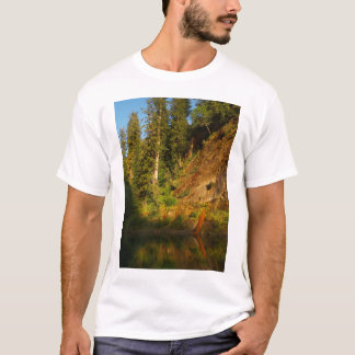 Eel river Cliff at Sunset T-Shirt