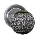 Eel skin pattern pinback button