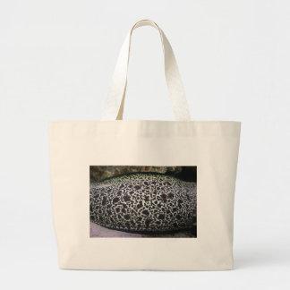 Eel skin pattern tote bags