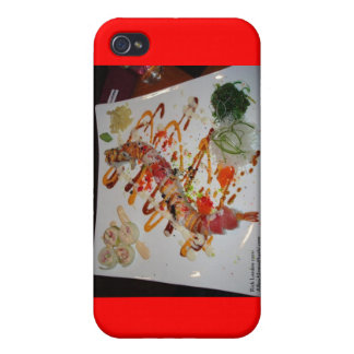 Eel Sushi Roll Mugs Cards Gifts Etc iPhone 4/4S Case