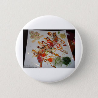 Eel Sushi Roll Tees Mugs Cards Gifts Etc Pinback Button