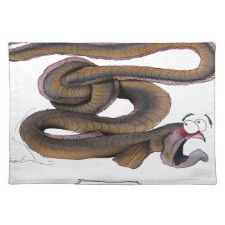Eel, tony fernandes place mats
