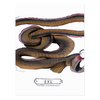 Eel, tony fernandes postcard