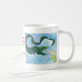 Eels eat bananas! mugs