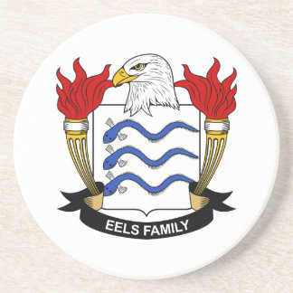 Eels Family Crest Coasters