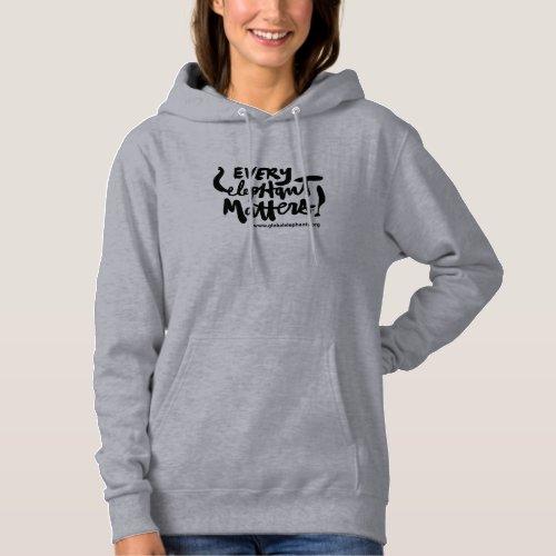EEM slim fit hoodie dress
