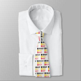 Eendracht Maakt Macht Tie, Belgian Motto Neck Tie
