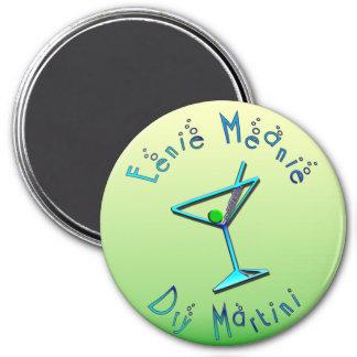 Eenie Meanie Dry Martini 3 Inch Round Magnet