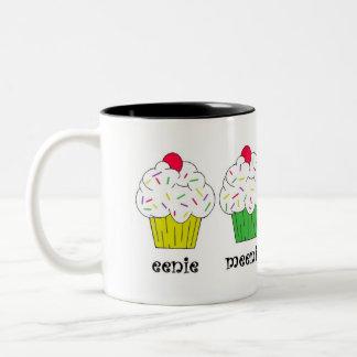 Eenie, Meenie, Miney, Moe! Cupcake Mug