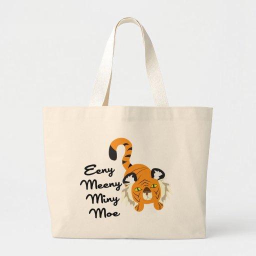 Eeny Meeny Miny Moe Canvas Bag