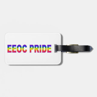 EEOC Pride Luggage Tag