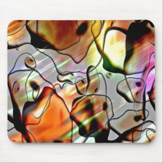 Eerie Abstract Mouse Pads
