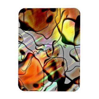 Eerie Abstract Vinyl Magnets