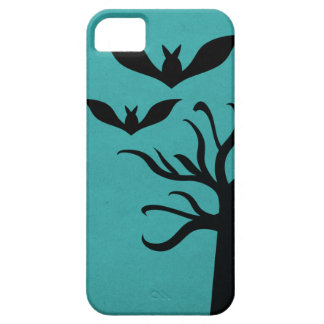 Eerie Bats iPhone 5 BT Case, Aqua iPhone 5 Cover