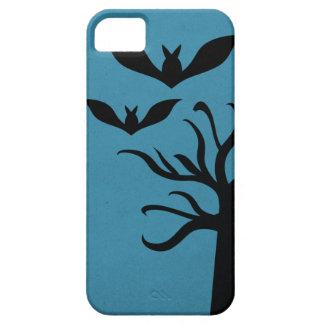 Eerie Bats iPhone 5 BT Case, Blue iPhone 5 Cases