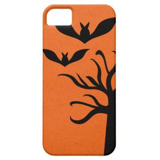 Eerie Bats iPhone 5 BT Case, Orange iPhone 5 Cover
