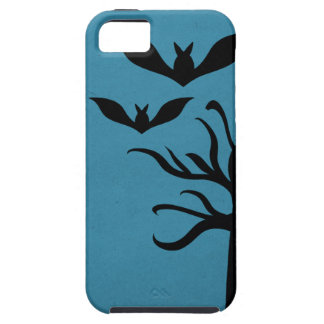 Eerie Bats iPhone 5 Vibe Case, Blue iPhone 5 Cover