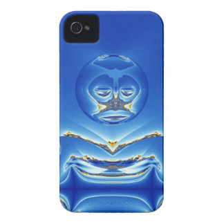 Eerie Big Brother Watches Fractal iPhone 4 Case-Mate Case