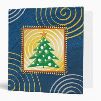 Eerie Christmas Memories 3 Ring Binder
