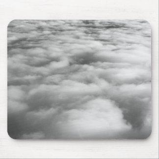 Eerie cloudscape at sunrise. mouse pad