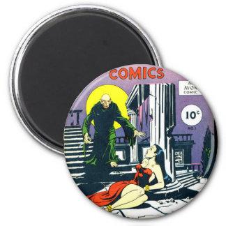 Eerie Comic books Fridge Magnet