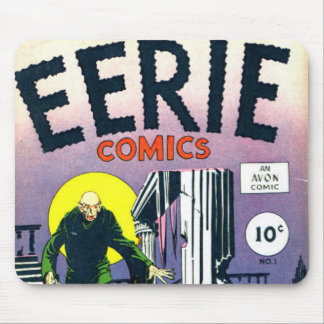 Eerie Comic books Mouse Pad