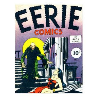 Eerie Comic books Postcard