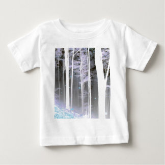 EERIE FOREST TREES LEAVES COLOR NEGATIVE BABY T-Shirt