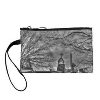 eerie graveyard coin purses