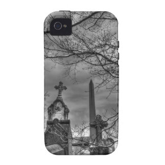 eerie graveyard Case-Mate iPhone 4 cover