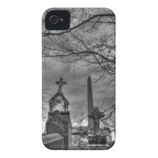 eerie graveyard iPhone 4 case