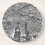 eerie graveyard coaster