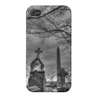 eerie graveyard iPhone 4 covers