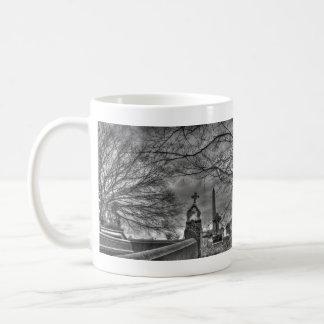 eerie graveyard mug