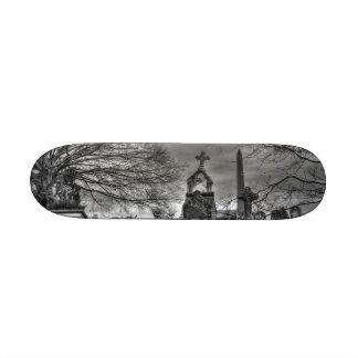 eerie graveyard skate board decks