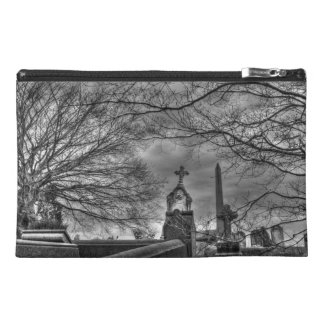 eerie graveyard travel accessory bag