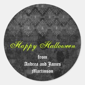 Eerie Halloween sticker