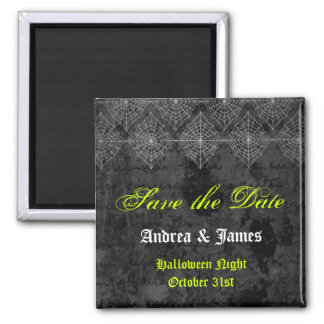 Eerie Halloween Wedding Save the Date Magnet